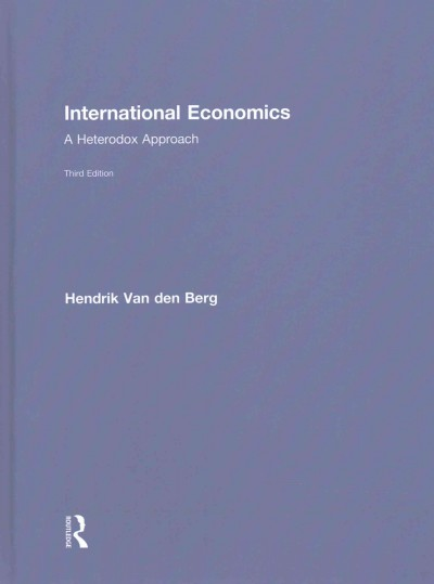 International economics  : a heterodox approach
